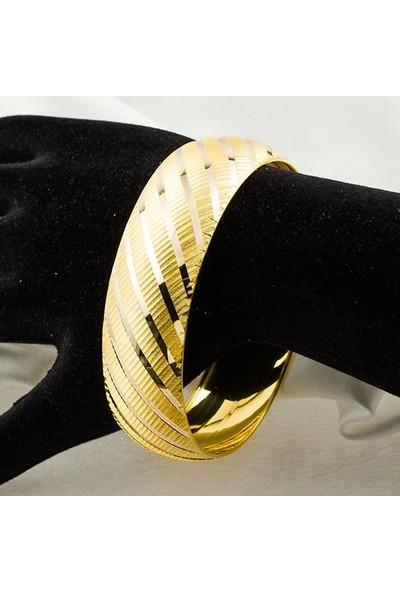 Bilezikci 2 cm Enli 8 Ayar Altın Bilezik 13,00 gr