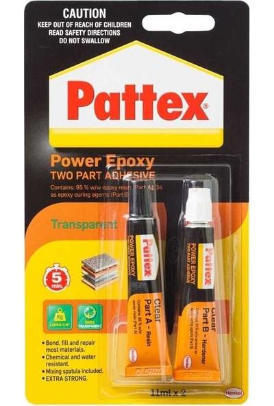 Pattex Rapid Metal Epoksi Yapıştırıcı 2X11 Gr