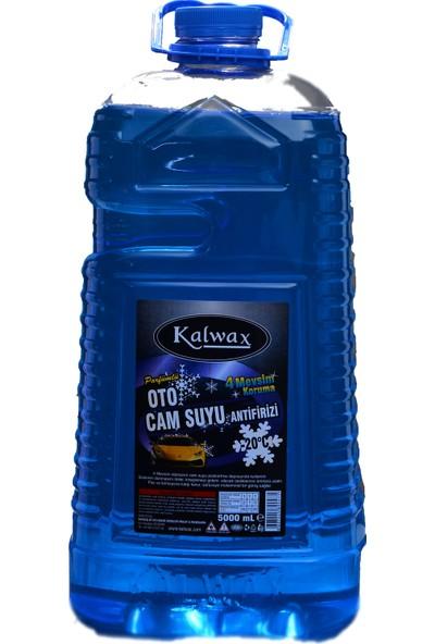 Kalwax Cam Suyu -20 Derece 5 lt. Parfümlü