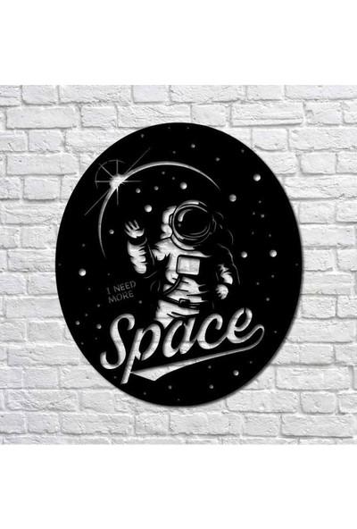 Bafidica More Space Metal Duvar Tablo