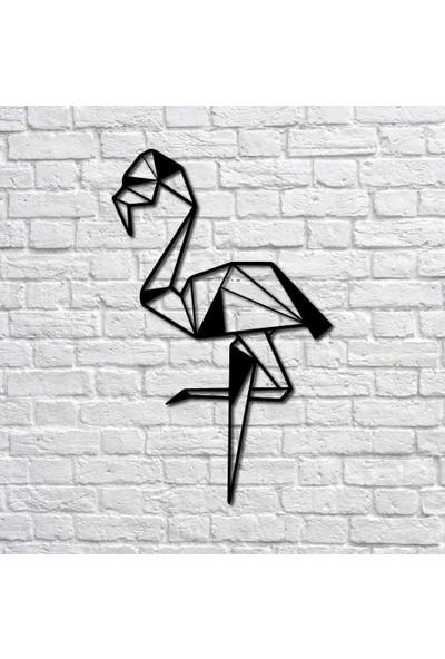 Bafidica Flamingo Metal Duvar Tablo