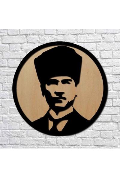 Bafidica Atatürk Iı Metal Duvar Tablo