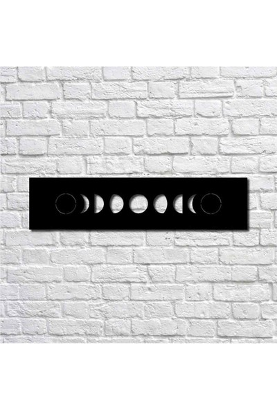 Bafidica Ayın Evreleri Metal Duvar Tablo