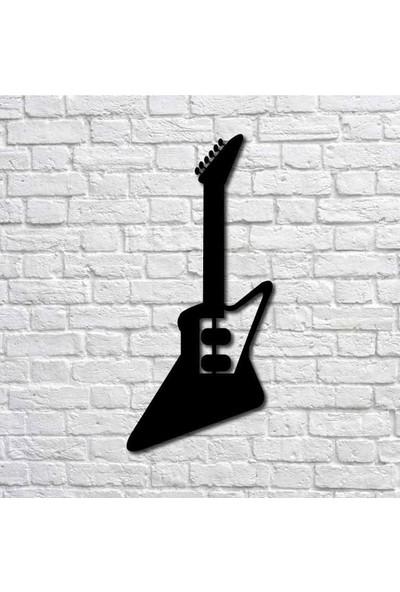 Bafidica Elektro Gitar I Metal Duvar Tablo