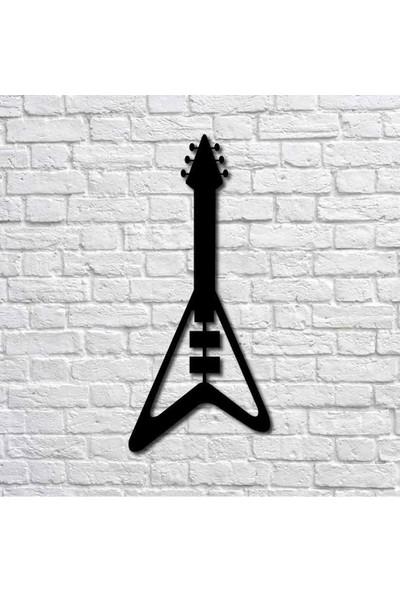 Bafidica Elektro Gitar Iı Metal Duvar Tablo