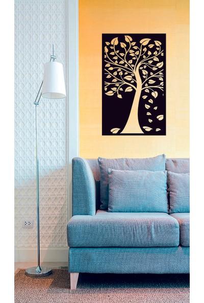 Makrolaser Ağaç Desenli Duvar Tablosu