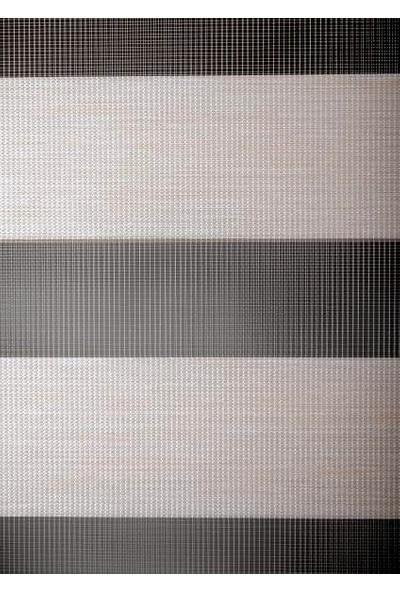 Güneş Perde Brillant Etek Dilimli Krem Zebra 70X200 cm