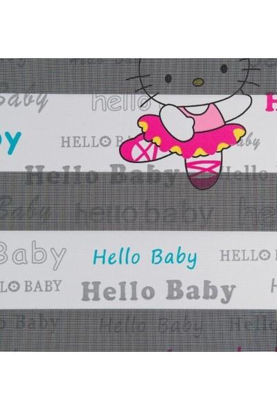 Güneş Perde Brillant Hello Kitty Baskılı Etek Dilimli Zebra 100X200