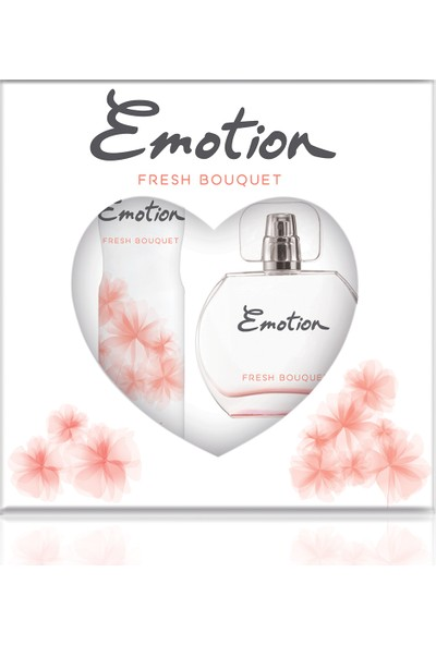 Emotion Fresh Bouquet EDT Kadın Parfüm 50 ml & Deodorant 150 ml