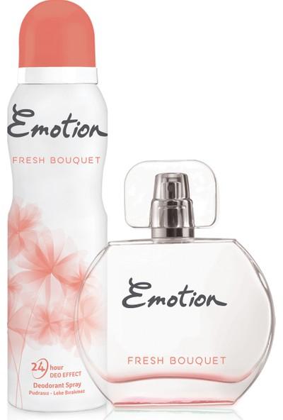 Emotion Fresh Bouquet EDT Kadın Parfüm 50 ml & Deodorant 150 ml
