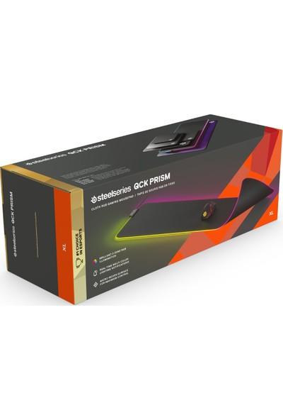 Steelseries QcK Prism Aydınlatma Oyuncu Mousepad - XL