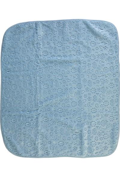 Recos Premium Battaniye Mavi