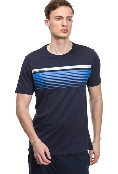 New Balance Aviator Erkek Tshirt Mt1811-A00