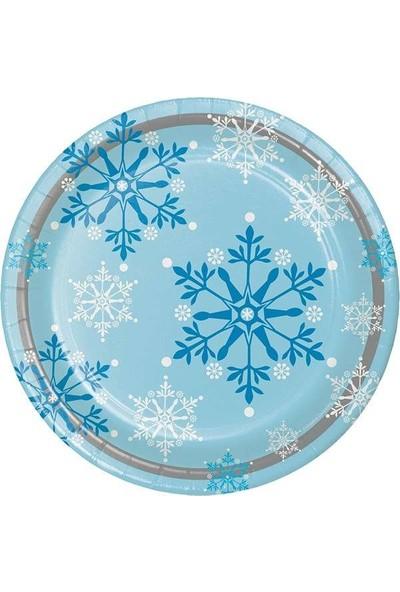 Happy Land Kar Tanesi Tabak Yılbaşı 8'li