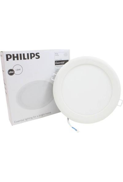 Philips Downlight 13W Essential Yuvarlak Led Spot Panel 7'' Gün Işığı