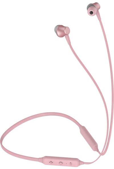 Celly Bluetooth Kulaklık Hafif Boyun Bantlı - Pembe