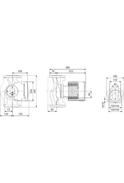 Grundfos - Magna3 65-150 F 340 1X230V Pn6/10