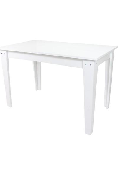 Sarıkaya Mobilya Fair Yemek Masası 120 x 70 cm Beyaz