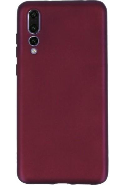 DVR Huawei P20 Pro Kılıf Premier Silikon (Mürdüm)
