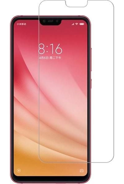 DVR Xiaomi Mi 8 Lite Kılıf Silikon (Şeffaf) + Cam Ekran Koruyucu