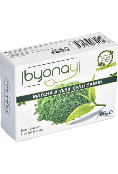 Byonay Matcha &Yeşil Çaylı Sabun 95 gr