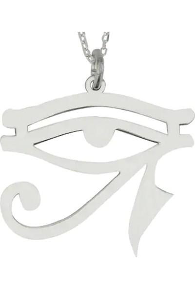 Grandhanra Ra Nın Gözü Gümüş Kolye