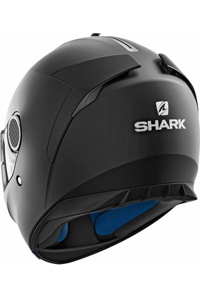 Shark Spartan Mat Siyah Kask