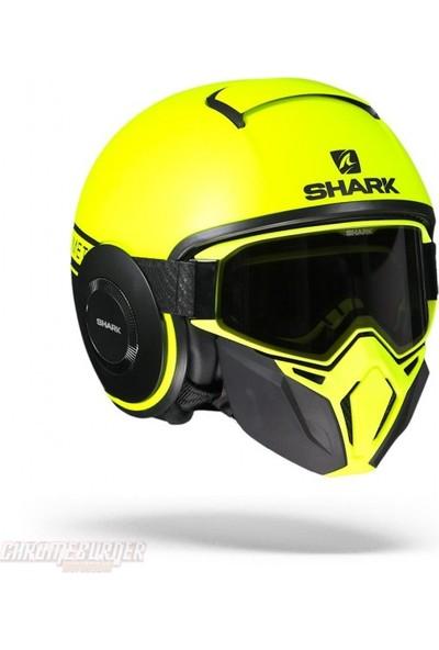 Shark Drak Street Kask | Sarı