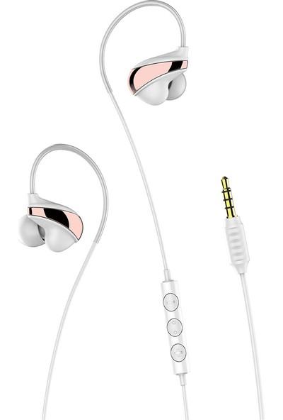 Baseus Encok H05 Kablolu Kulaklık - Beyaz