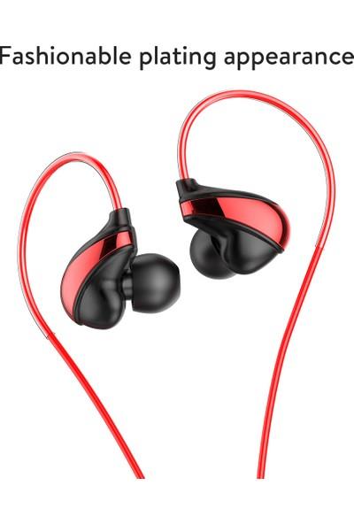 Baseus Encok H05 Kablolu Kulaklık - Kırmızı