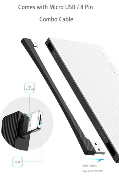 Baseus Esazi Çift Girişli Dijital Ekran Powerbank 20000 mAh