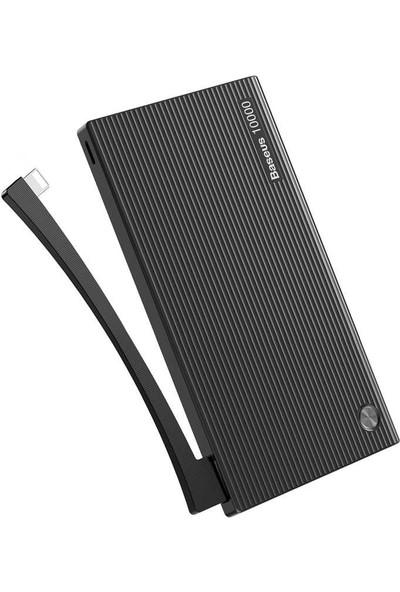 Baseus Esazi Çift Girişli Dijital Ekran Powerbank 10000 mAh