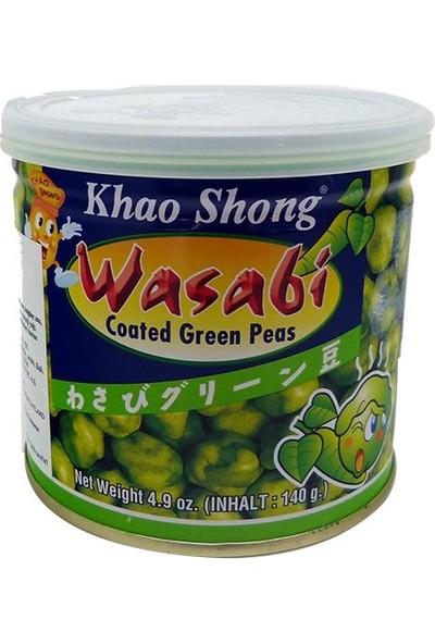 Khao Shong Wasabi Kaplı Bezelye, 140gr