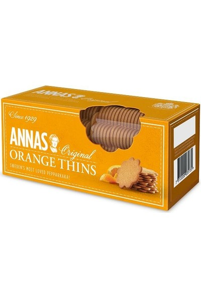 Lotus Annas Orange Thins Kurabiye 150 gr