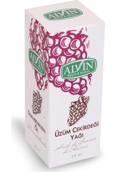 Alvin Üzüm Çekirdeği Yağı 20ml