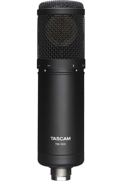 Tascam Tm-280 Geniş Diyaframlı Kondenser Stüdyo Mikrofonu