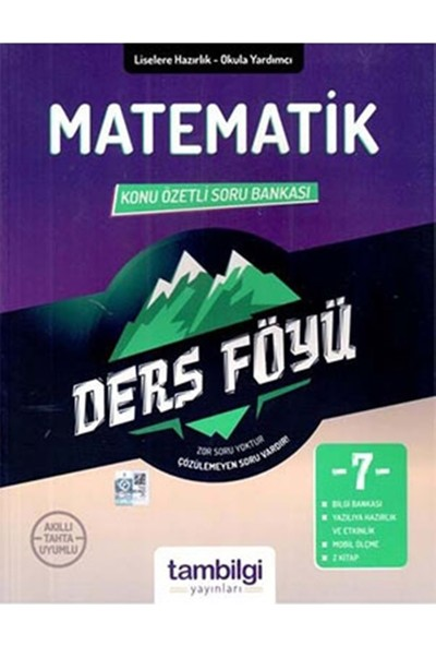Tam Bilgi Yayınları 7. Sınıf Matematik Dersföyleri(Soru Bankası)