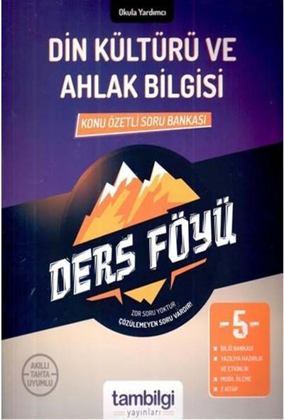 Tam Bilgi Yayınları 5. Sınıf Din Kültür ve Ahlak Bilgisi Dersföyleri(Soru Bankası)