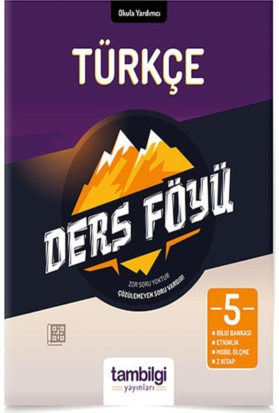Tam Bilgi Yayınları 5. Sınıf Türkçe Dersföyleri(Soru Bankası)