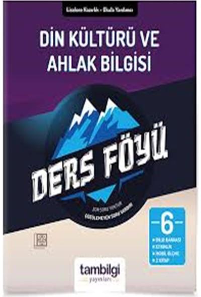 Tam Bilgi Yayınları 6. Sınıf Din Kültür ve Ahlak Bilgisi Dersföyleri(Soru Bankası)