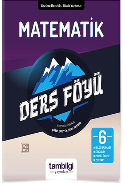 Tam Bilgi Yayınları 6. Sınıf Matematik Dersföyleri(Soru Bankası)