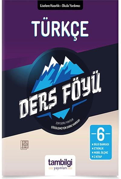 Tam Bilgi Yayınları 6. Sınıf Türkçe Dersföyleri(Soru Bankası)