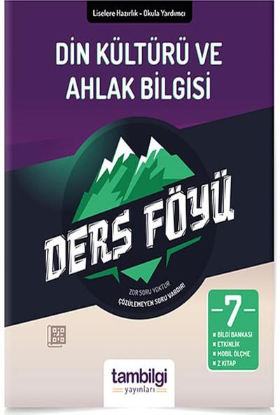 Tam Bilgi Yayınları 7. Sınıf Din Kültür ve Ahlak Bilgisi Dersföyleri(Soru Bankası)