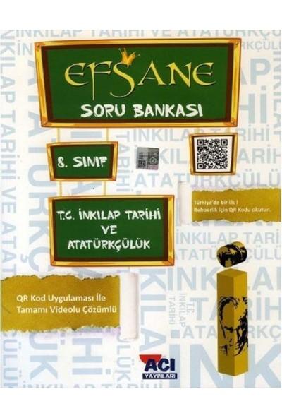 Açı Yayınları 8.Sınıf Lgs T.C. İnkılap Tarihi Ve Atatürkçülük Efsane Soru Bankası