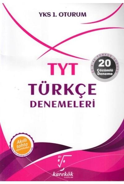 Karekök Yayınları TYT Türkçe Denemeleri 1.Oturum