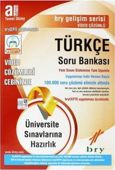 Birey A Serisi Türkçe Soru Bankası Temel Düzey