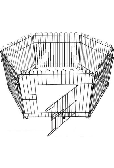 Best Cage Metal 70X69 Cm Altı Parça Köpek Oyun Alanı