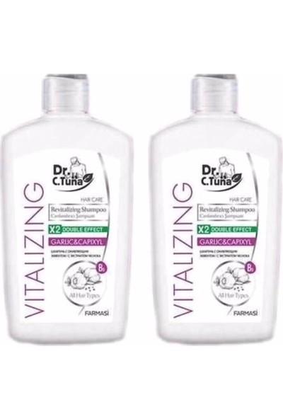 Dr.C.Tuna Vitalizing Sarımsaklı Şampuan 500 Ml 2 Adet