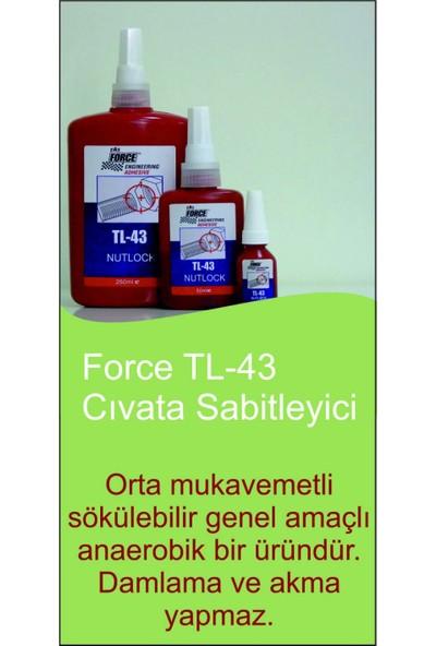 Force Tl43 Cıvata Sabitleyici 50Ml.
