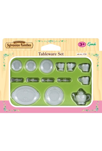 Sylvanian Families Tableware Set